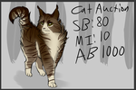 Cat Auction | OPEN by WarriorCake