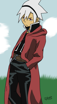 Soul Evans as Edward Elric by Timeless-Knight
