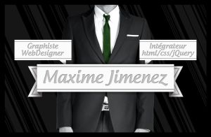 New business card - Front by LeHudiaa