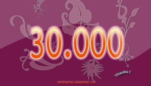 30.000  - Thanks by iAmFreeman