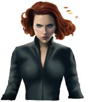 Black Widow - Work in Progress by Lythara