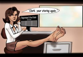 Lois Lane by Bigfootfantasies