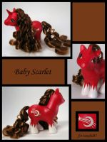 Baby Scarlet for tuneful87 by Sweetlittlejenny