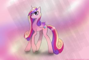 Princess Cadence. by CrutonArt