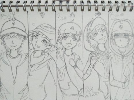 [Boboiboy] Old art  by DamianAries