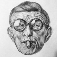 George Burns by sindisj