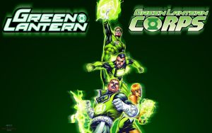 Green Lantern covers Nov by Xionice