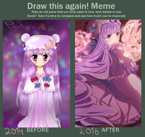 Draw Again Meme Patchouli by Bamoh-cchi