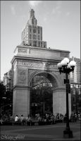 NYC - Washington Square Garden by MarieFieve