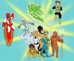 Justice league international by Cubed1