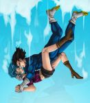 Free Falling... by VEGETAxBULMA-4EVER