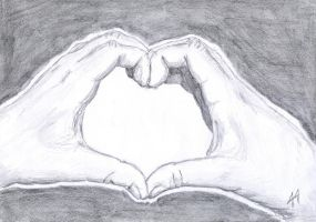 hands heart by Smok15