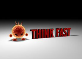 ThinkFast logo by undergoo