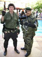 ALA 2012- Metal Gear Father and Son by Scarlet-Impaler