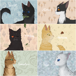Favourite Warrior Cats by campinq