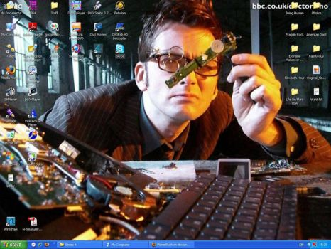 Doctor Who Desktop by Lovelyruthie