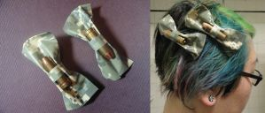 Digital Camo Bullet Bows by TheSpazOutLoud