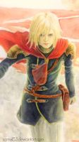 Final Fantasy Type-0 - Ace by samui153