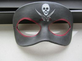 Pirate themed mask by maskedzone