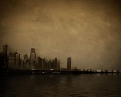 Trapped in the city by firesign24-7