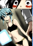 GGO-SAO Sinon Colored by Yahiko23
