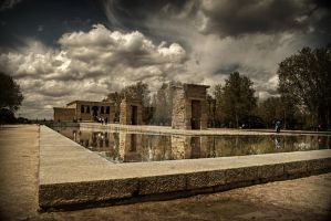 The Temple of Debod by Astaroth667