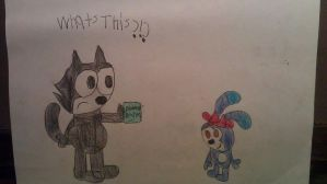 Another Felix The Cat by Ryanbugsbunny