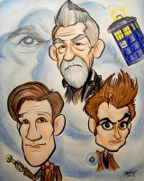 Day of the Doctor by CaricatureDan