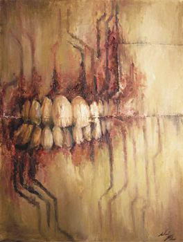abstracted teeth by Violet-Tied