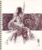 Sketch 38 : Focus by Cinar