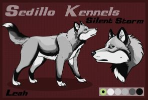 SK's Silent Storm: Leah by Sedillo-Kennels
