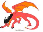 Draig the Dragon by OverlordOfMagic