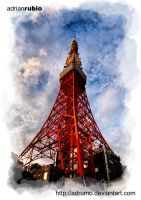 Tokyo Tower by adrumo