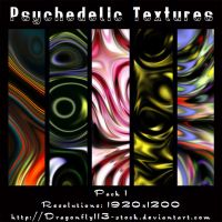 Psychedelic Textures Pack 1 by BFstock