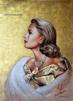 GRACE KELLY OF MONACO by ILIAN RACHOV by ilian00