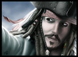 Captain Jack Sparrow by Soske-jima
