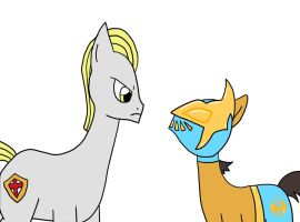 Yorkshire Meets MLP Sin Cara by MysteryFanBoy718