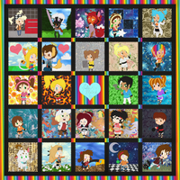 A Quilt with Character by NinjaKitten22