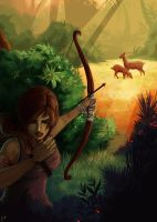 First Shot - Tomb Raider Contest by Lulolana