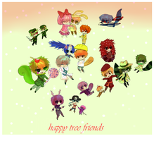 chibi:happy tree friends by Greinjaz