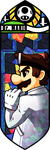 Smash Bros - Dr Mario by Quas-quas
