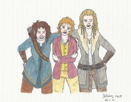 Hobbit - Genderbent by honest-liar-13