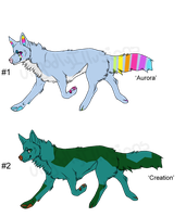 Happy Wolf Adopts - Adopted by Feralx1
