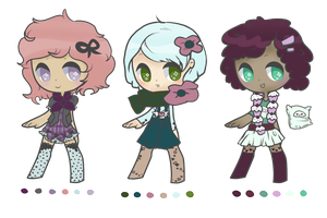 Scarves n' Stockings Adopts -With Icon- [2/3 OPEN] by slanderxoxo
