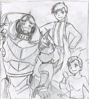 The Three Stages of Alphonse by miladyhiakara