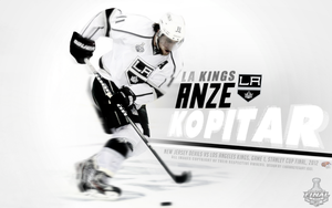 Anze Kopitar by TheHawkeyeStudio