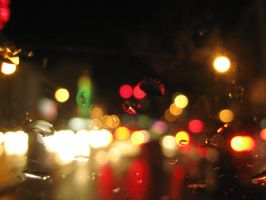 Colours in the rain by paianj3nul