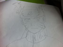 naruto uzumaki by DemonJnR