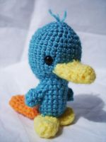 Perry the Platypus Plushie by VampireMistressKayla