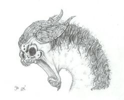 Horrid Demon Worm by Imperal